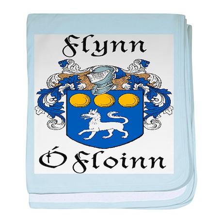 Flynn In Irish & English baby blanket