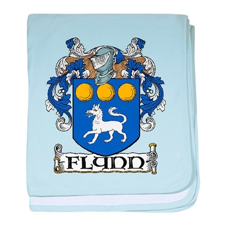 Flynn Coat of Arms baby blanket
