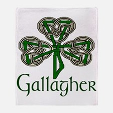 Gallagher Shamrock Throw Blanket