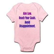 Avoid Disappointment Infant Bodysuit