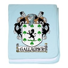 Gallagher Coat of Arms baby blanket