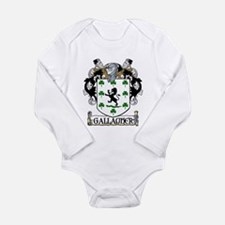 Gallagher Coat of Arms Long Sleeve Infant Bodysuit