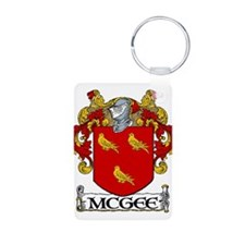 McGee Coat of Arms Aluminum Photo Keychain