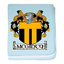McGinty Coat of Arms baby blanket