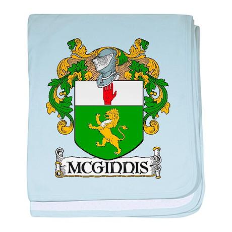 McGinnis Coat of Arms baby blanket