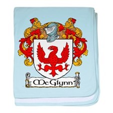 McGlynn Coat of Arms baby blanket