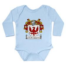 McGlynn Coat of Arms Long Sleeve Infant Bodysuit