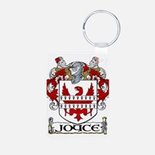 Joyce Coat of Arms Aluminum Photo Keychain