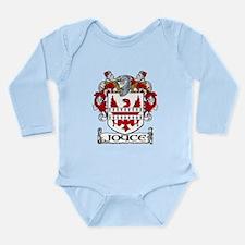 Joyce Coat of Arms Long Sleeve Infant Bodysuit