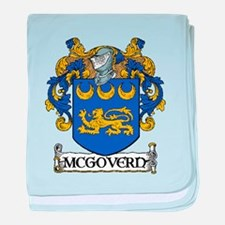 McGovern Coat of Arms baby blanket