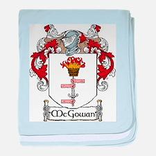 McGowan Coat of Arms baby blanket