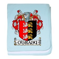 O'Grady Coat of Arms baby blanket