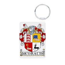 McGrath Coat of Arms Aluminum Photo Keychain