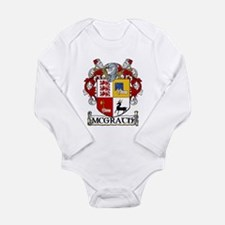 McGrath Coat of Arms Long Sleeve Infant Bodysuit