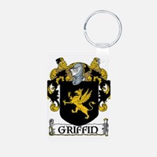 Griffin Coat of Arms Aluminum Photo Keychain