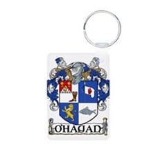 O'Hagan Coat of Arms Aluminum Photo Keychain