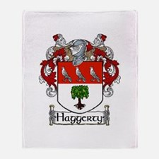 Haggerty Coat of Arms Throw Blanket