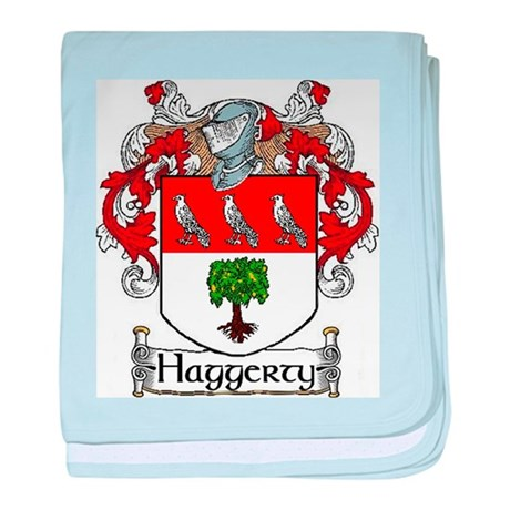 Haggerty Coat of Arms baby blanket