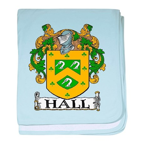 Hall Coat of Arms baby blanket