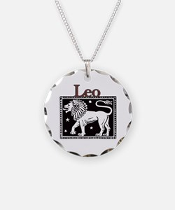 Unique Leo and sagittarius Necklace