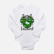 Hanley Coat of Arms Long Sleeve Infant Bodysuit