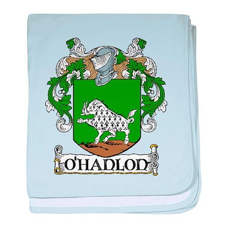 O'Hanlon Coat of Arms baby blanket