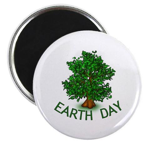 """Earth Day Tree Hugger 2.25"""" Magnet (100 pack)"""