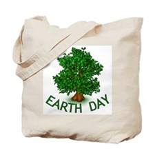 Earth Day Tree Hugger Tote Bag