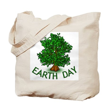 Earth Day Tree Hugger Tote Bag