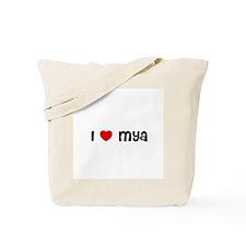 I * Mya Tote Bag