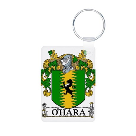 O'Hara Coat of Arms Aluminum Photo Keychain
