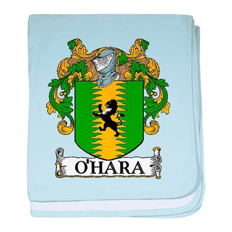 O'Hara Coat of Arms baby blanket