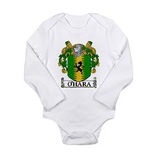 O'Hara Coat of Arms Long Sleeve Infant Bodysuit