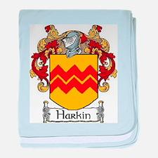 Harkin Coat of Arms baby blanket