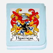 Hartness Coat of Arms baby blanket