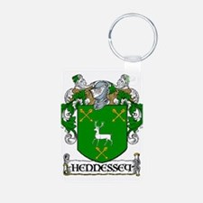 Hennessey Coat of Arms Aluminum Photo Keychain