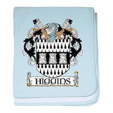 Higgins Coat of Arms baby blanket