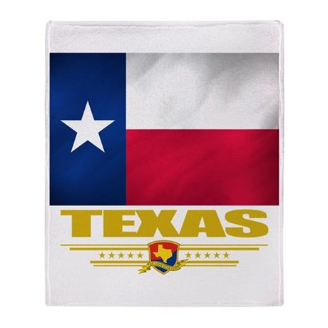 Texas Pride Throw Blanket