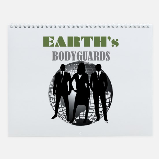 Wall Calendar Earth's Bodyguards