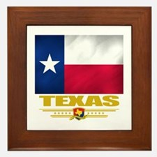 Texas Pride Framed Tile