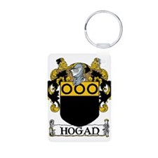 Hogan Coat of Arms Aluminum Photo Keychain