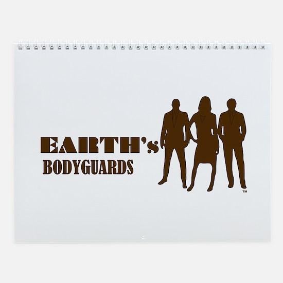 Wall Calendar Earth's Bodyguards