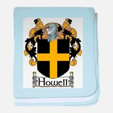 Howell Coat of Arms baby blanket