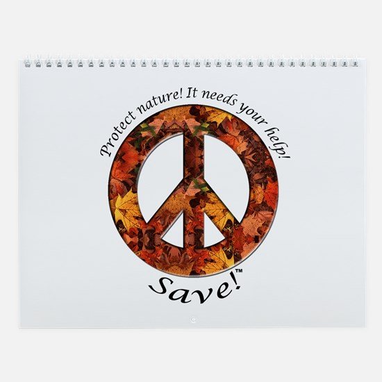 Wall Calendar Peace Fall