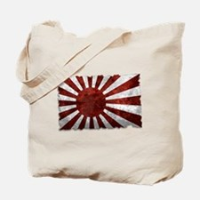 Japanese Rising Sun Flag Tote Bag