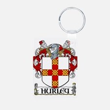 Hurley Coat of Arms Keychains