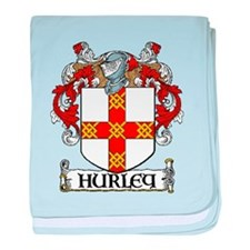 Hurley Coat of Arms baby blanket