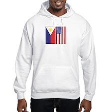 Philippine & US Flags Hoodie