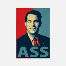 Scott Walker Ass Rectangle Magnet
