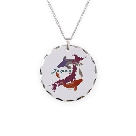 JAPAN RELIEF 2011 Necklace Circle Charm
